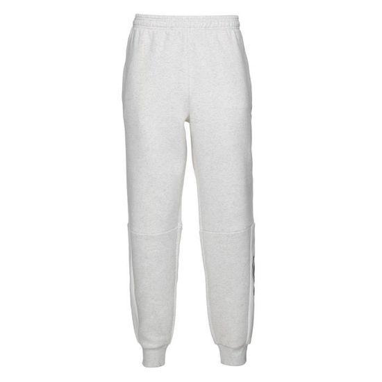 52bfec23091d0 ADIDAS Pantalon M Sid Lgo Pt Fl - Homme - Blanc chiné Blanc chiné - Achat    Vente pantalon de sport - Cdiscount