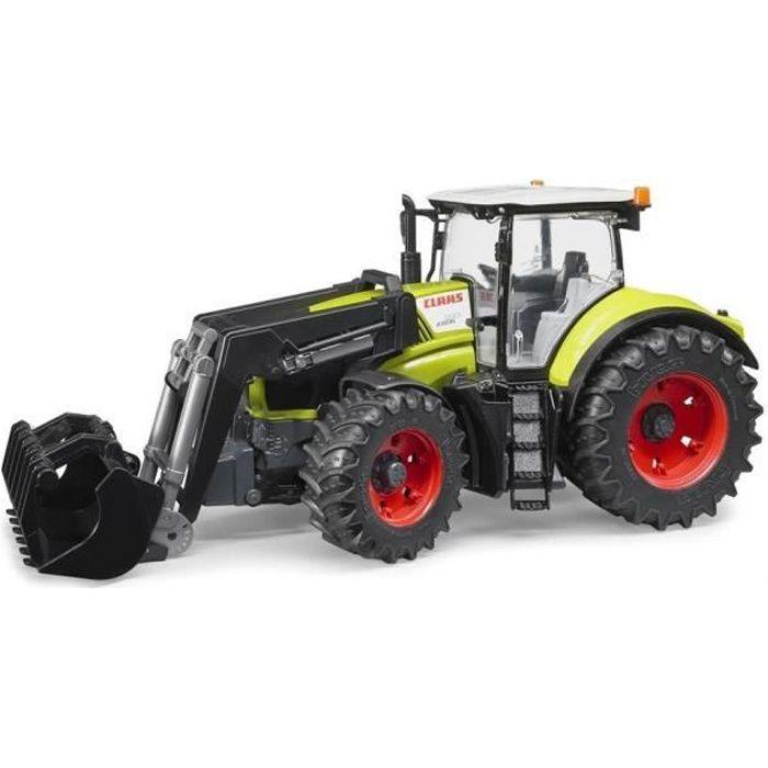 BRUDER - 3013 - Tracteur CLAAS Axion 950 avec fourche - Garçon - A partir de 3 ans - Livré à l'unitéVEHICULE MINIATURE ASSEMBLE - ENGIN TERRESTRE MINIATURE ASSEMBLE