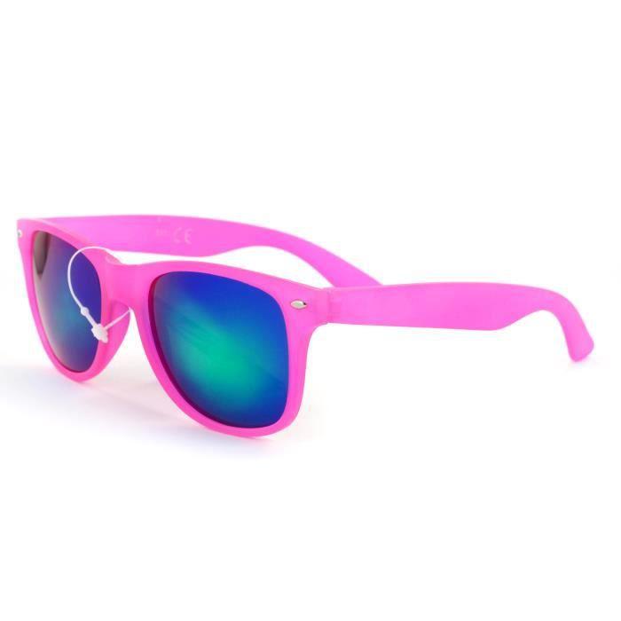 Lunettes style Wayfarer Coloris Neon-KOST 5104 Rose Neon