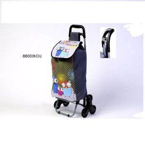 chariot de courses 3 roues decor hiboux fox trot achat vente chariot de march. Black Bedroom Furniture Sets. Home Design Ideas