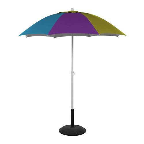 parasol de plage pacora 1 8m bleu vert et achat vente parasol abri de plage parasol. Black Bedroom Furniture Sets. Home Design Ideas