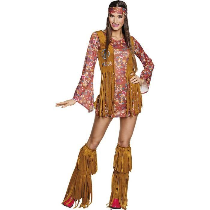 déguisement hippie hottie femme - achat / vente déguisement