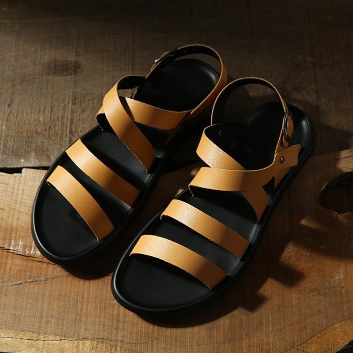 Sandales homme chaussure de bain Chaussures d'eau Chaussures de plage Chaussures pour activités aquatiques pIayGhhktP