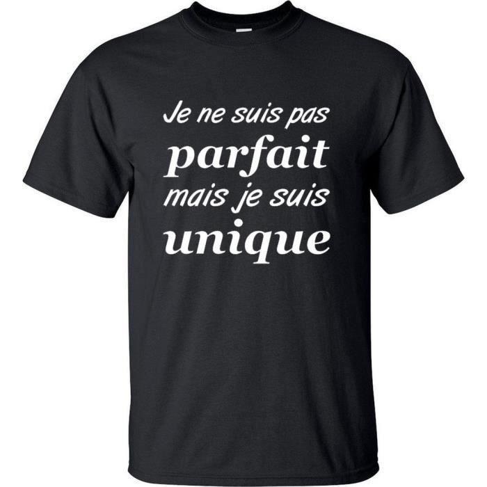 T-shirt originaux humoristique - je ne suis