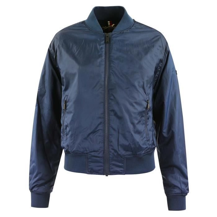 TOMMY HILFIGER Essential Padded Blouson Femme Taille XS BLEU