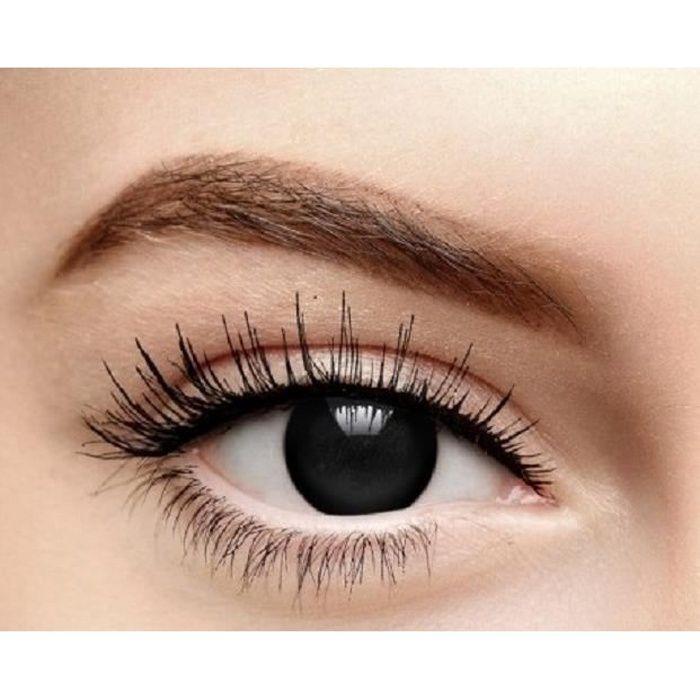 2f42b18c8ba04 Lentille de contact noir hebdomadaire - Achat   Vente lentilles de ...