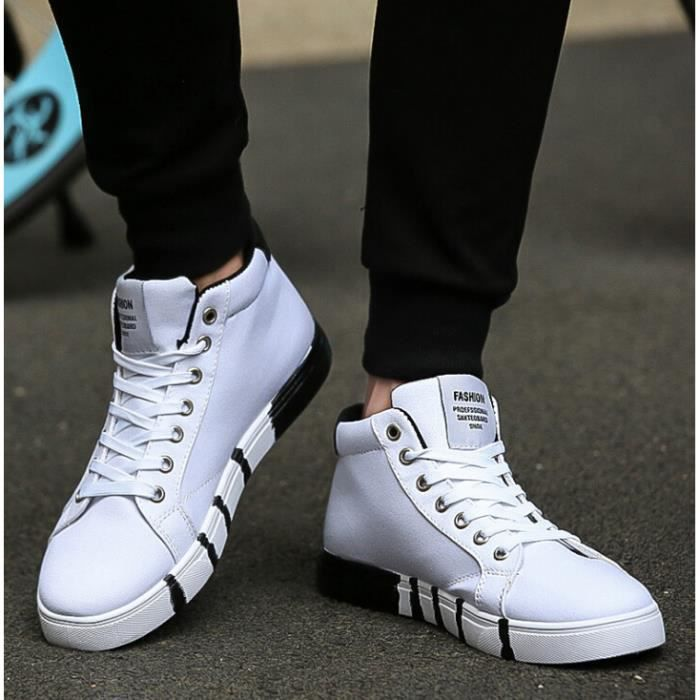Mode Basket Homme Skate Homme montantes chaussures Shoes Chaussure Cw4fZzTqW5
