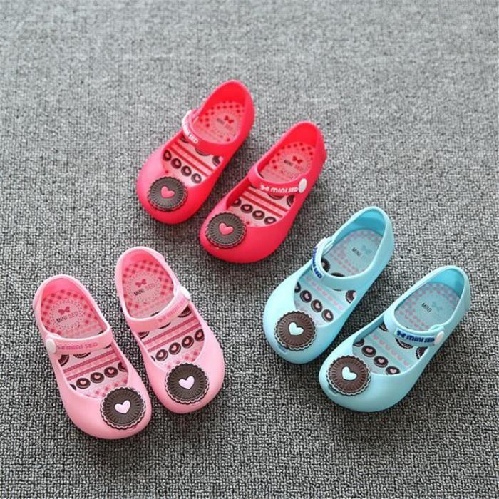 Sandale Fille Meilleure Qualité Antidérapant Doux Nouvelle Léger Durable Chaussure Mignon Plus De Couleur Taille 24-29 ZdSGWTO