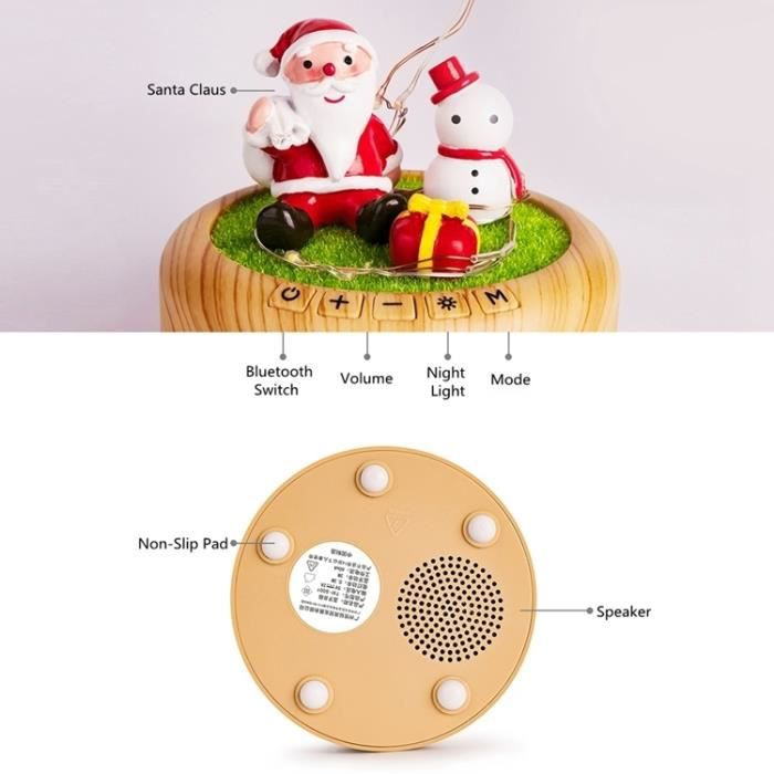 Led Lumière 169601 Streamer Bluetooth Dream Veilleuse Rechargeable Lampe Haut parleur Table Bouteille Bleu Nuit Décorative De dxUnz