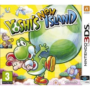 JEU 3DS Yoshi's New Island - Jeu Nintendo 3DS