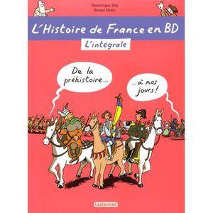 BANDE DESSINÉE L'histoire de France en BD