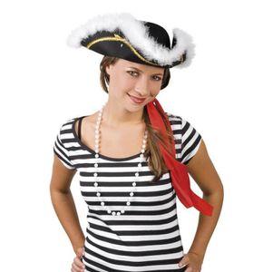 2259d53257ed Chapeau de pirate femme - Achat   Vente jeux et jouets pas chers