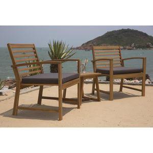fauteuil bas jardin achat vente pas cher. Black Bedroom Furniture Sets. Home Design Ideas