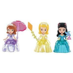 POUPÉE  Disney Princesse Sofia - Pack 3 figurines 7 cm So