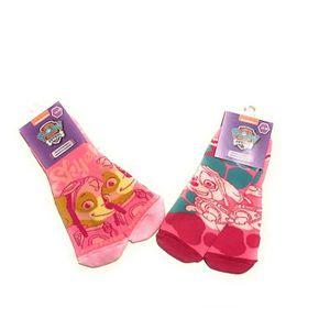 CHAUSSETTES Lot de 2 paires chaussettes chaussons pat patrouil