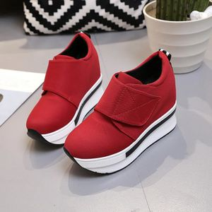 SLIP-ON oppapps9667 Femmes Bottes Compensées Chaussures de