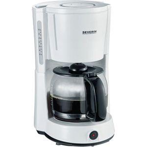 MACHINE À CAFÉ SEVERIN KA 4497 Cafetière 10 tasses blanc-noir