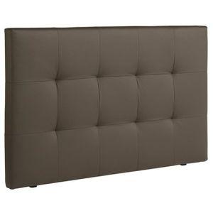tete de lit 160 taupe achat vente tete de lit 160. Black Bedroom Furniture Sets. Home Design Ideas