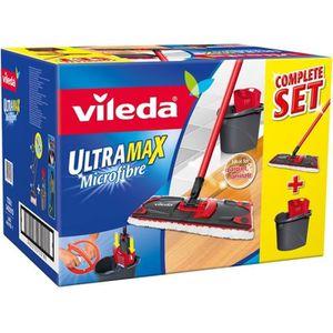 PIÈCE ENTRETIEN SOL  Vileda - Ultra Max complète : Set Balai à Plat + S