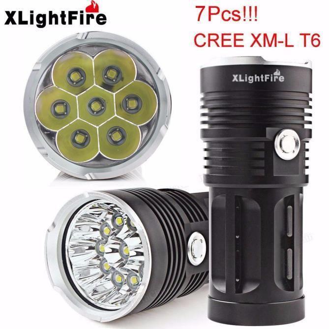 18650 T6 batterie 7 Chasse Torche Led L Incluse Non X Lampe 4 Xm Cree xlightfire Xyq60610126 Poche 16000lm De EH2YDeWI9