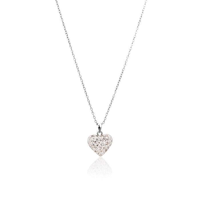 Collier CLEOR Argent 925/1000 Cristal