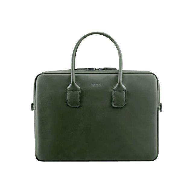 Briefcase Mobilis Origine Cuir Pour Tablette Notebook Mallette Kaki Imitation R6pq6F