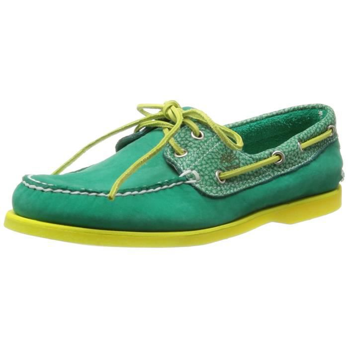Timberland Men's Classic 2 Eye Boat Shoe 3MHRN6 Taille 40 1 2
