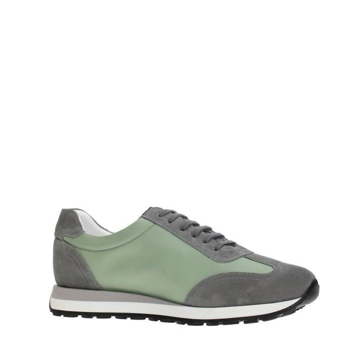 Soldini Sneakers Homme GREEN/WHITE, 42