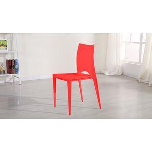 Emejing Salon De Jardin Plastique Rouge Ideas - Amazing House ...