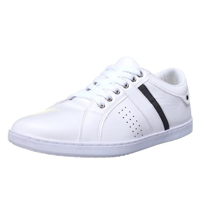 Shoes Blanc Suede Chaussure Anda Chaussure Reservoir Reservoir w7xpq4Ht