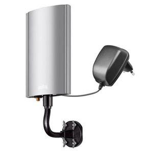 ANTENNE RATEAU Alpexe® Antenne extérieure Active DVB-T  + aliment