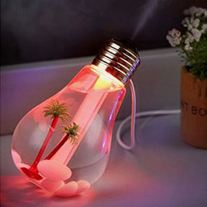 DÉCORATION LUMINEUSE Lampe LED Humidificateur Accueil Aroma Humidificat