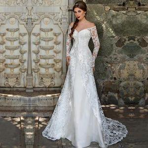 e62a2d7da55 ROBE DE MARIÉE Nouveauté Robe de mariage mariée longue traîne man