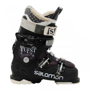 CHAUSSURES DE SKI Chaussures de ski Salomon Quest access R70w noir v
