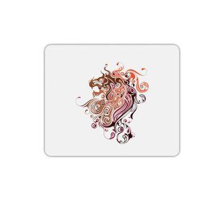 TAPIS DE SOURIS Tapis de souris rectangle imprimé lion arabesque