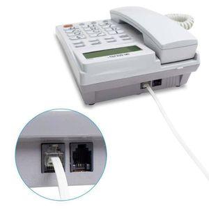 MODEM - ROUTEUR VSHOP® Câble RJ11 vers RJ11 4 broches pour modem r