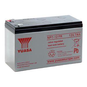 BATTERIE DOMOTIQUE Yuasa - Batterie plomb AGM NP7-12FR 12V 7Ah  - …