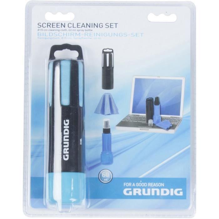GRUNDIG - Kit de nettoyage pour écran 60ml