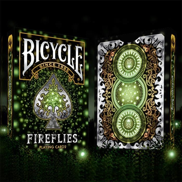 Carte Bicycle Cdiscount.Jeu De Cartes Bicycle Fireflies