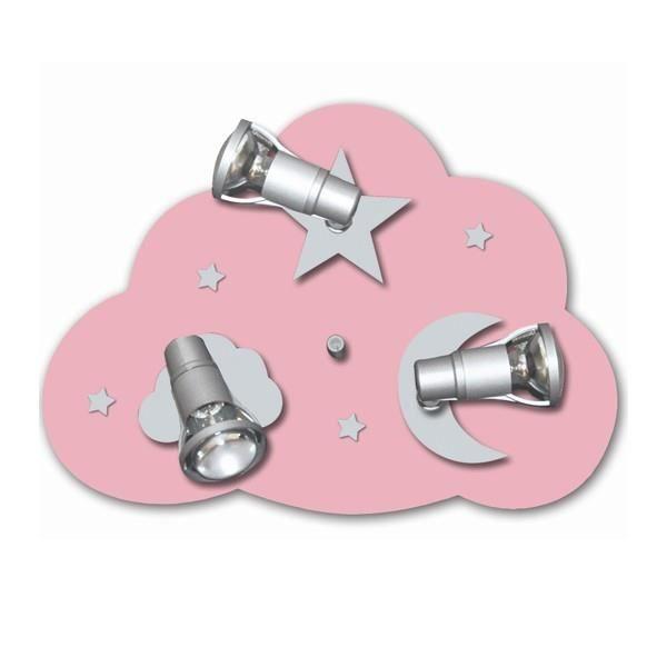 Lustre Chambre Enfant Rose Spatial - Achat / Vente Lustre Chambre ...