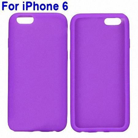COQUE - BUMPER Iphone 6 : Coque Housse Silicone Violet