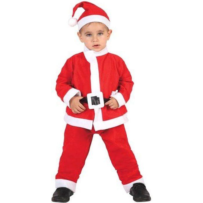 9f46c8b962b71 Déguisement père Noël garçon 9-12 ans - Achat   Vente déguisement ...