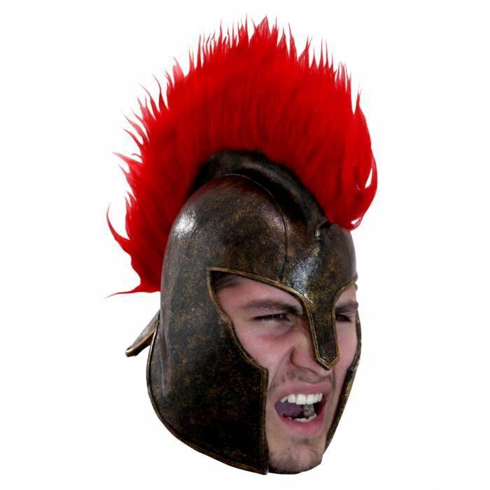 ACCESSOIRE DÉGUISEMENT casque cheval de Troie en latex