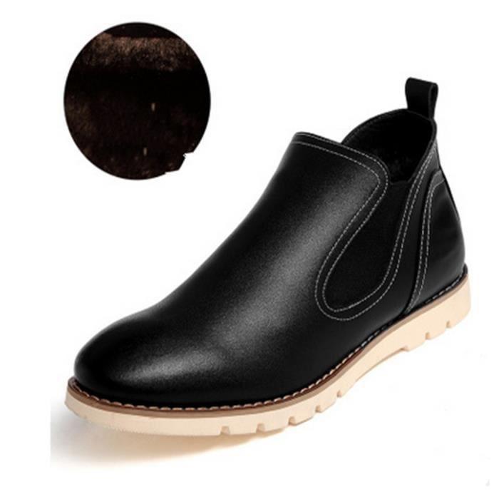 Chaussure Homme plus velours capitonné
