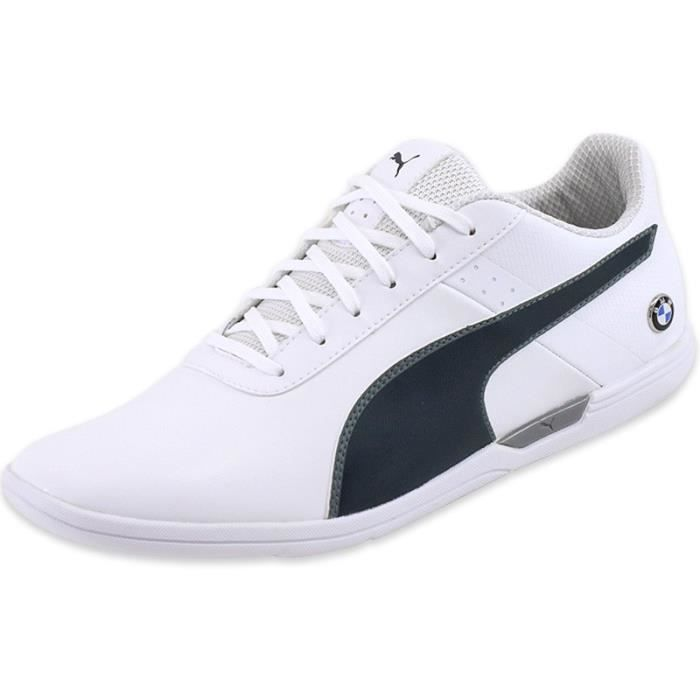 new arrival e4041 2d50b Chaussures BMW MS MCH Blanc Homme Puma