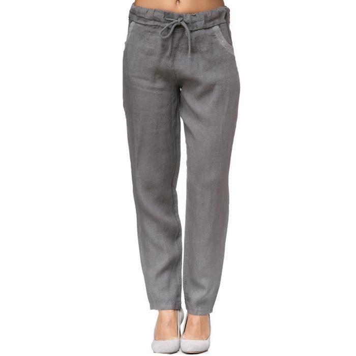 2fe5cbed5bc788 Pantalon femme 3XK9EN Taille-44 Noir Noir - Achat / Vente pantalon ...