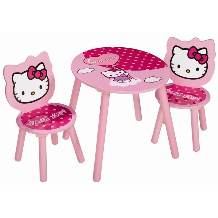 hello kitty table enfant 2 fauteuils achat vente table b b cdiscount. Black Bedroom Furniture Sets. Home Design Ideas