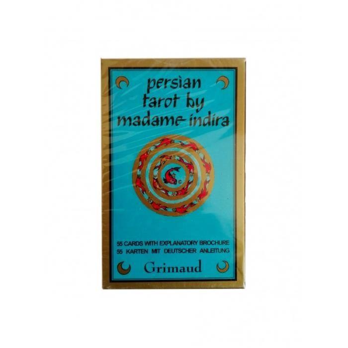 CARTES DE JEU Encens - Tarot persan de madame Indira