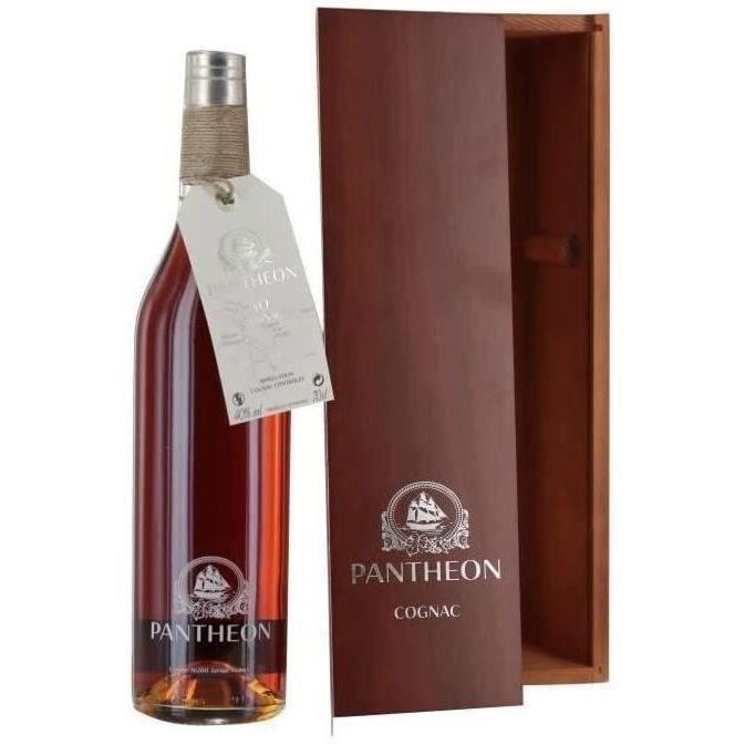 DIGESTIF EAU DE VIE PANTHEON Cognac - Coffret - 70 cl - 40 %