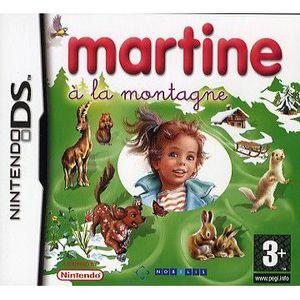 JEU DS - DSI MARTINE A LA MONTAGNE / JEU CONSOLE NINTENDO DS